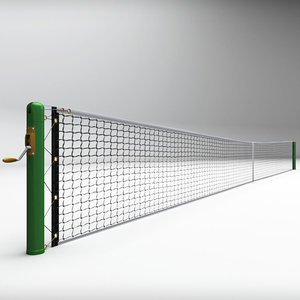 3d tennis court net