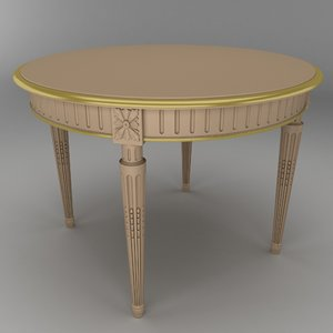 max neoclassical table