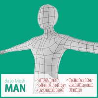 Male Base Mesh
