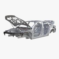 max car frame 5 rigged