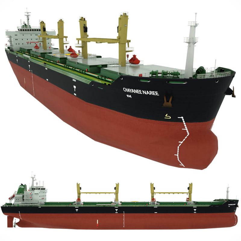 cargo vessel chayanee naree obj