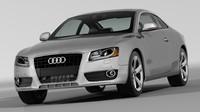 Audi A5 2008 Car Model