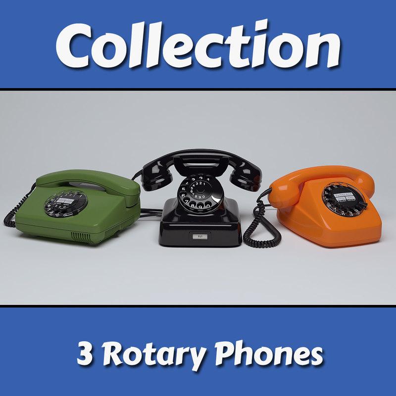rotary telephone max