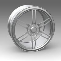 wheel 3d model