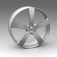 3d wheel model
