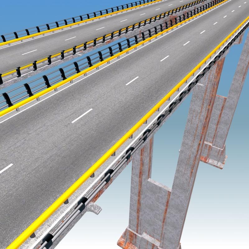 bridge modeled 3d max