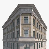 berlin house frankfurter strasse 3d model