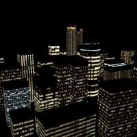 night city 3d max