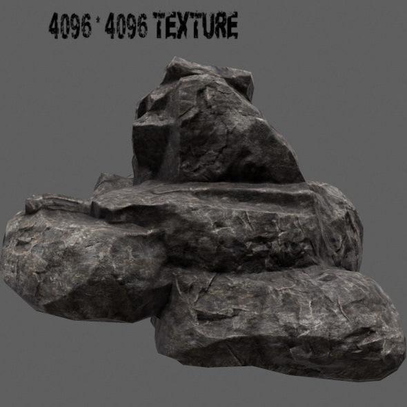 3d rock 8