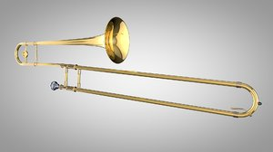 trombone c4d