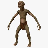 goblin creature 3d max