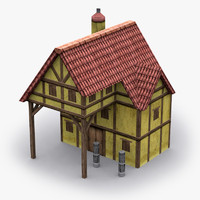 house spearmaker 3d model