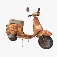 Vespa Old Dirty