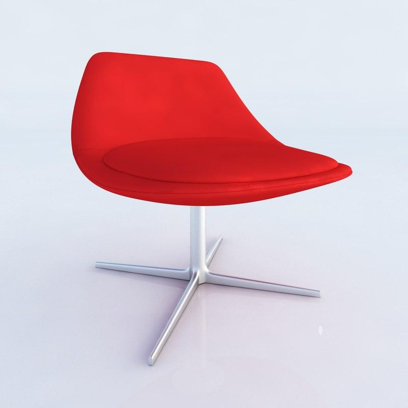 3d model seat chiara