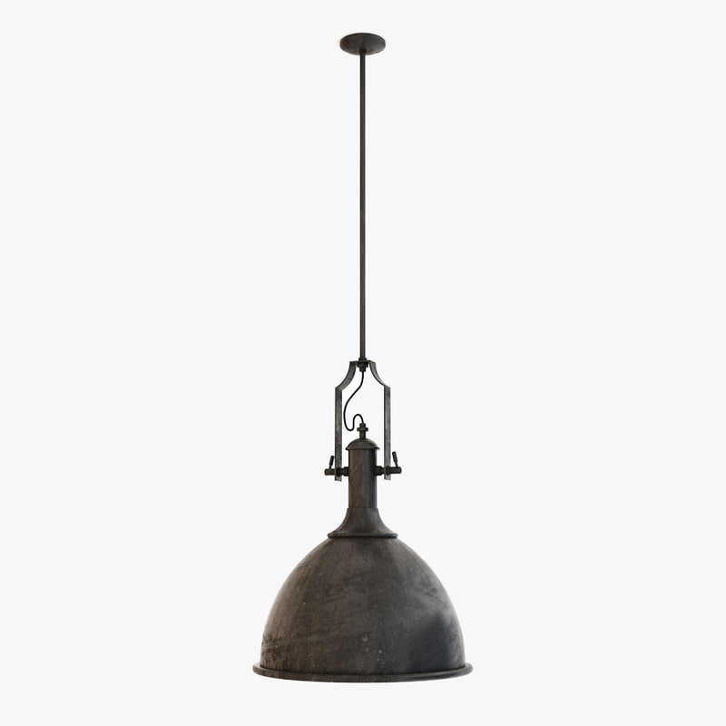 flamant hanging lamp soprano 3d 3ds