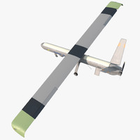 Elbit Hermes 450 Israel UAV Rigged