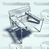 3d model of chair