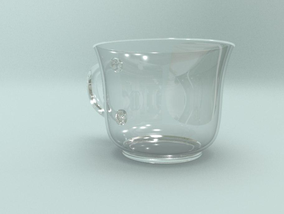glass mia x 3d model