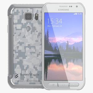 samsung galaxy s6 active 3d model