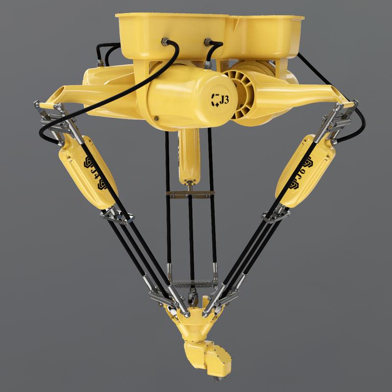 robot delta 3d max