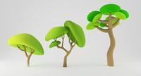 3d toon tree