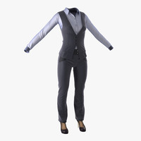 3d model of women suit 5