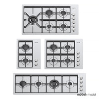 foster gas cooktops 3d max