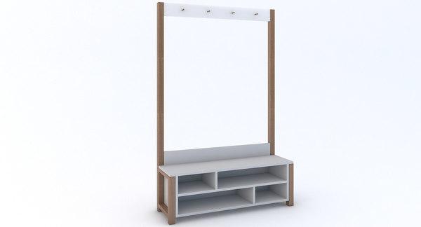 3d modern wardrobe model