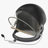 advanced crew escape helmet 3d model