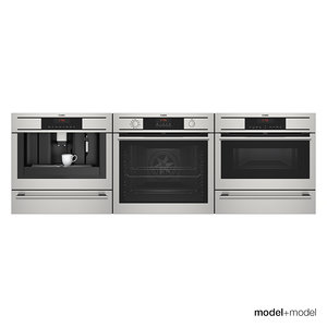 aeg appliances 3d model