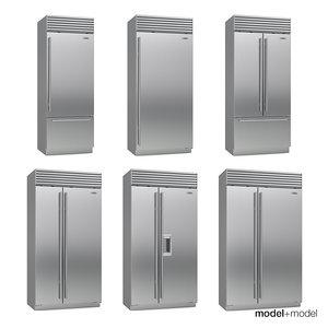 3d sub-zero fridges