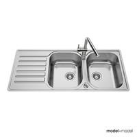 3d model blanco lantos sinks
