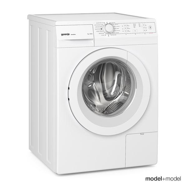 gorenje washing machine dryer obj