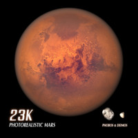 3d model mars phobos