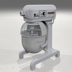 bowl mixer 3d model
