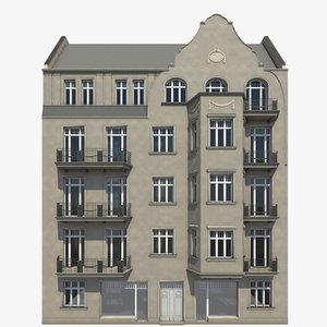 berlin residence finowstrasse 34 3d model