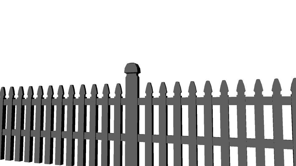 maya house fence