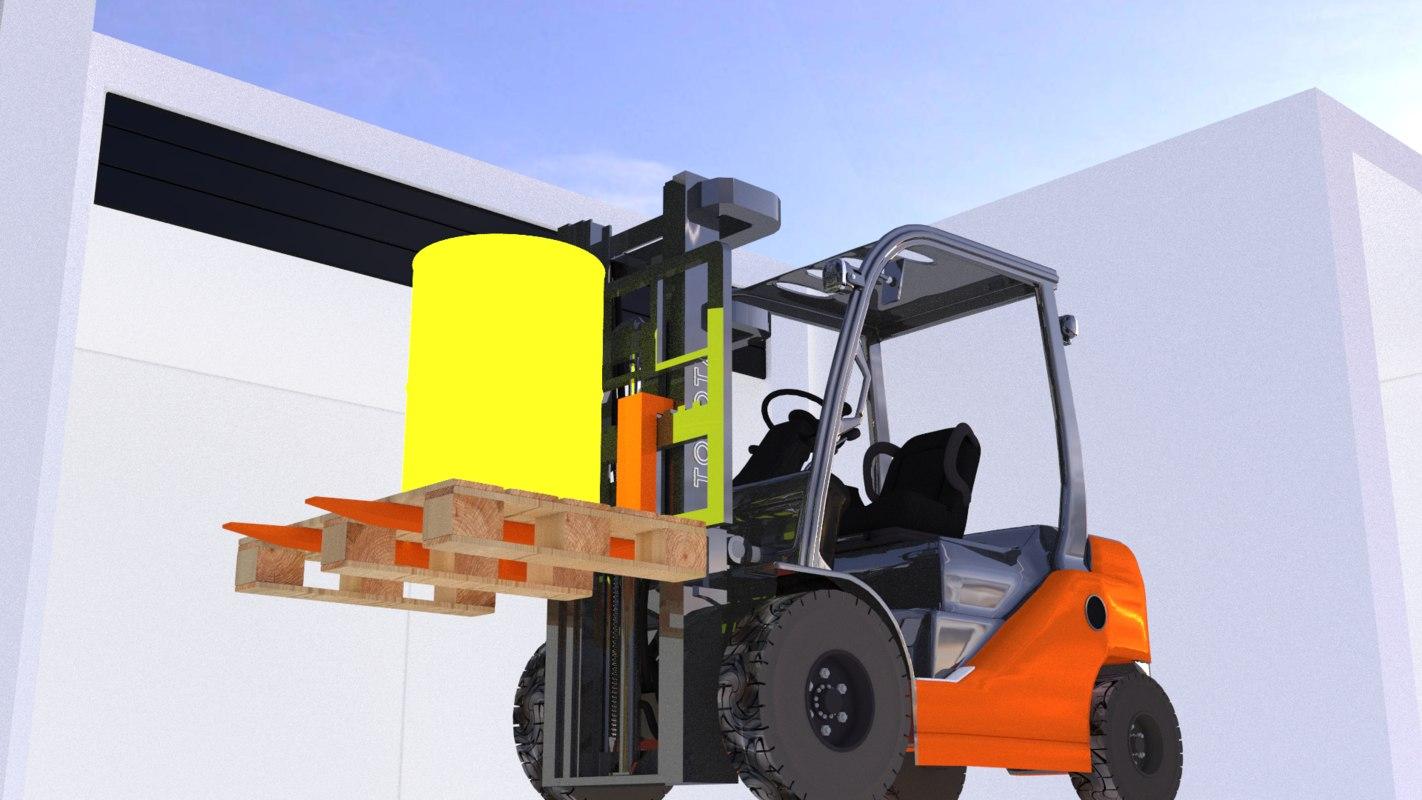 toyota forklift truck x
