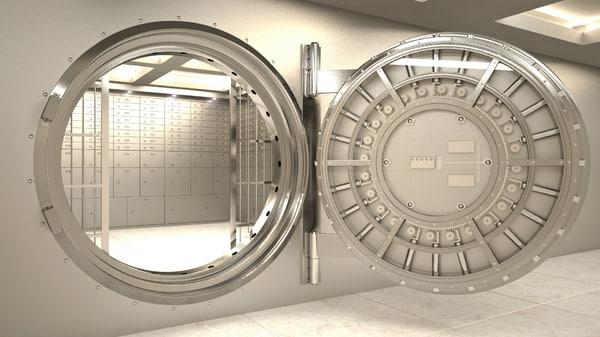 vault interior 3d model
