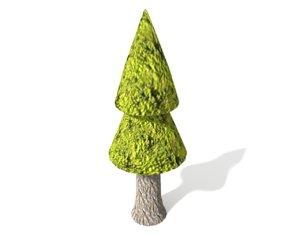 pine blender 3d model