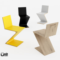 Zig Zag chair by Cassina
