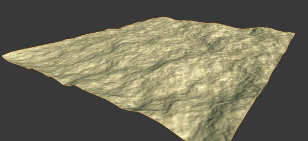 3ds rough desert terrain