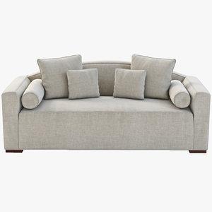 modern luxury sofa 3d 3ds