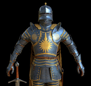 3ds character knight armor games