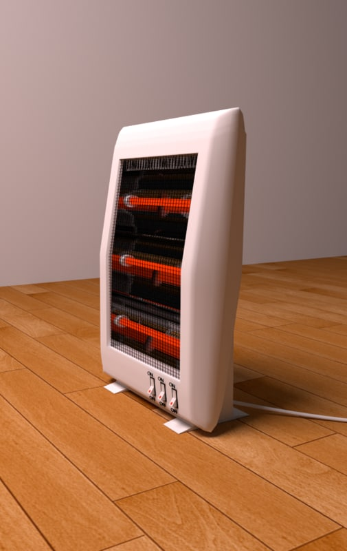 heater 3d 3ds