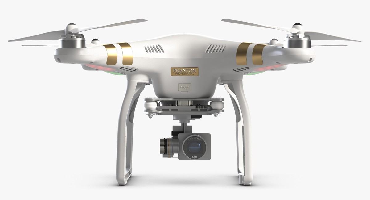 3ds quadcopter dji phantom 3