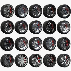 maya 20 wheels rims