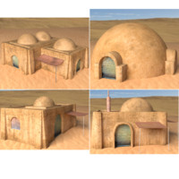 buildings tatooine obj