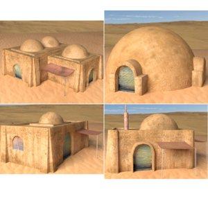 buildings tatooine obj