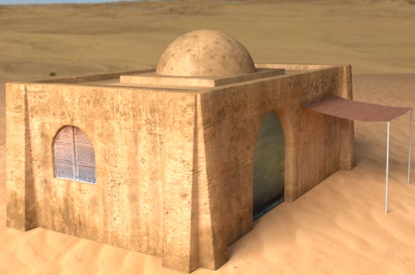 maya building tatooine